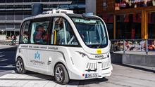 Shared autonomous vehicle in an urban area